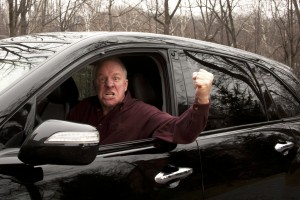 controlling road rage